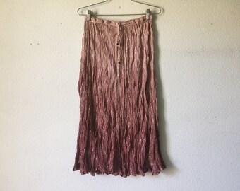 Vintage 70s India Cotton Skirt