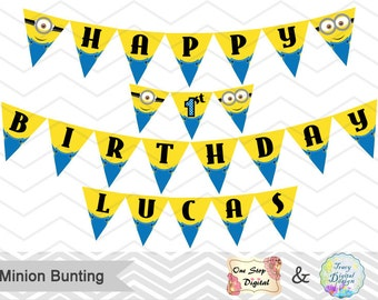 Minions Banner Etsy