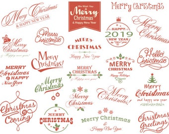 happy new year card new year card making scrapbooking instant download merry christmas clipart christmas scrapbook decor christmas digital photo overlay