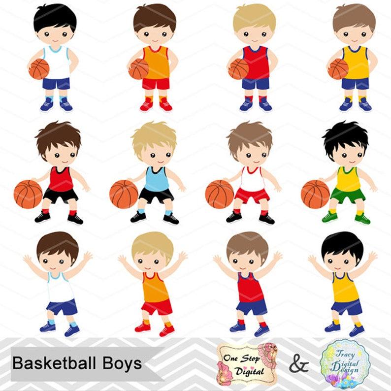 Sport Boys Digital Clip Art 0259 Sport Clipart Digital Basketball Boy Clip Art Instant Download Basketball Boys Digital Clipart