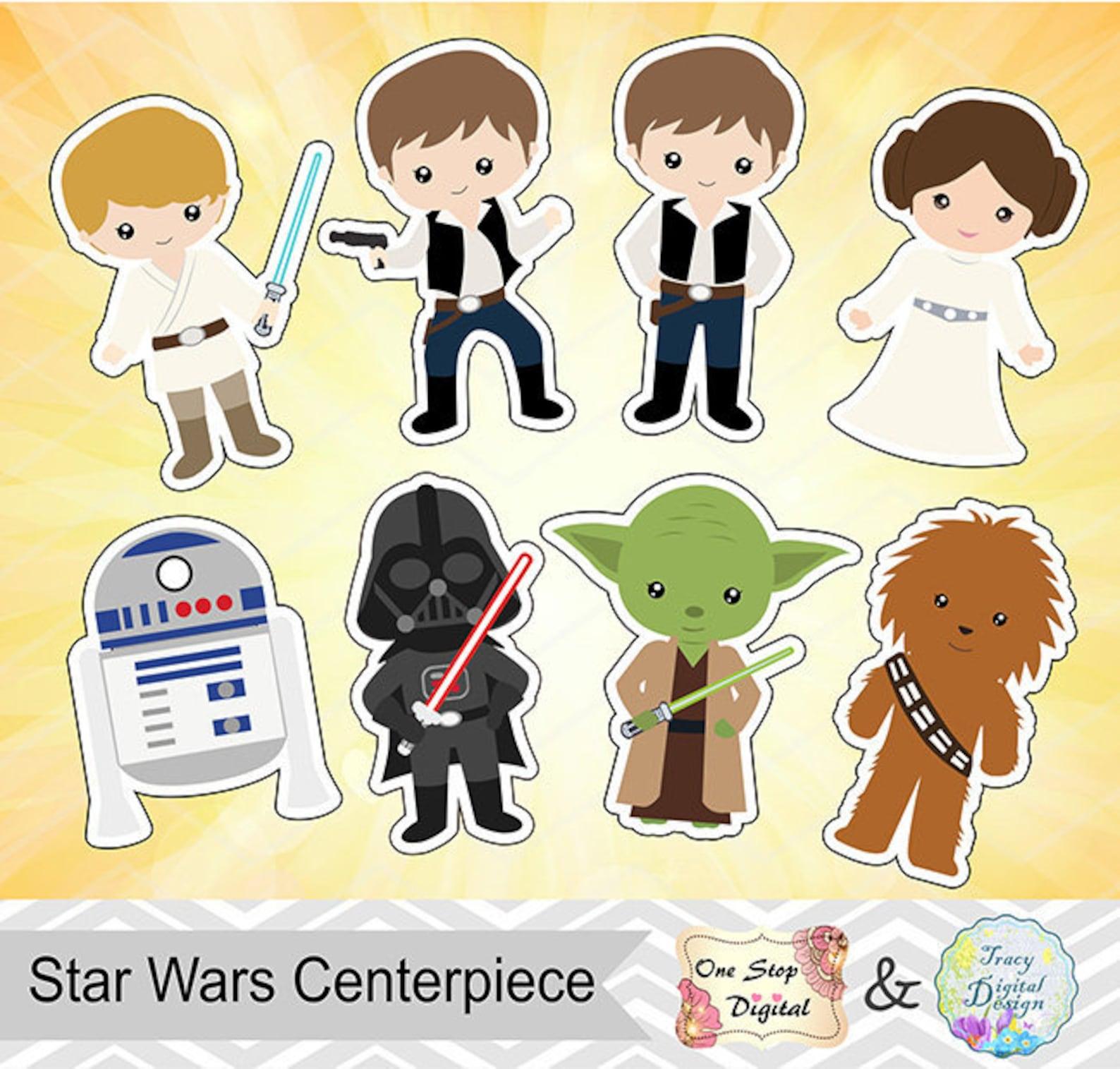 Printable Star Wars Centerpieces