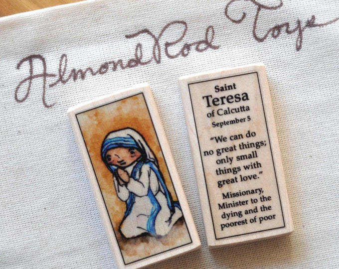 Mother Teresa // St Teresa of Calcutta Patron Saint Block
