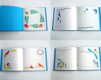 Personalized Memory Album. Illustrated Album. Liber Amicorum