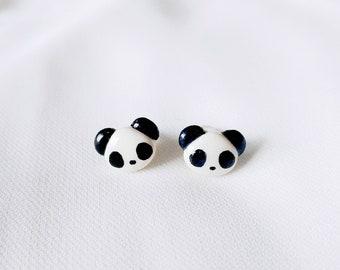 6b2ccee35 Panda Earrings Cute Panda Stud Earrings
