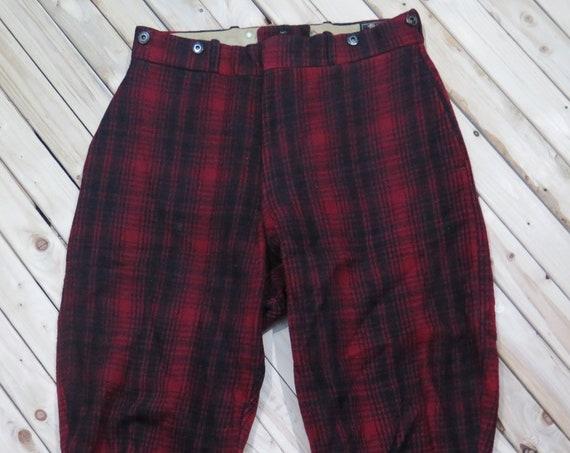 Woolrich Mackinaw Pants Heavy Wool Hunting Pants