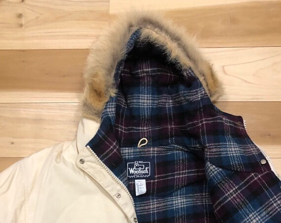 Woolrich Arctic Parka Down Fill Coyote Fur Hood Down