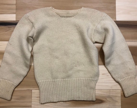 50s Collegiate Wool Sweater