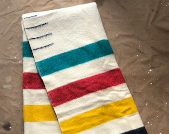 50s Hudson's Bay 3.5 point Wool Blanket