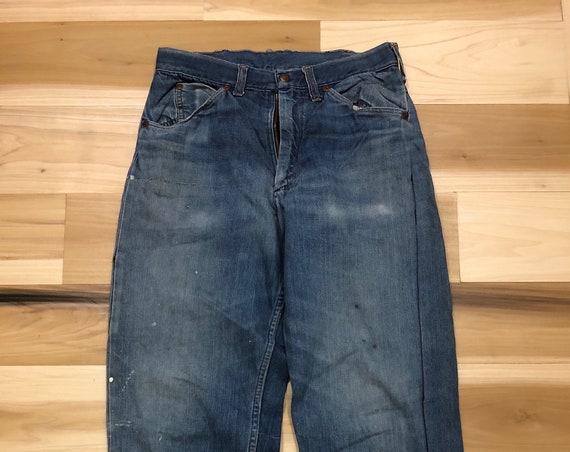1950s Big Mac Selvedge Jeans Carpenter Chore Pants 29 waist