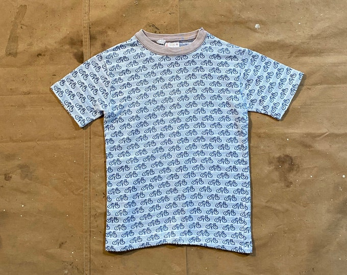 1950s / 60s Knit T-shirt Bicycle