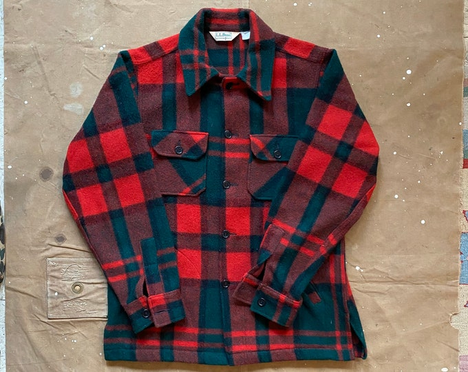 80s LL Bean Wool Jacket