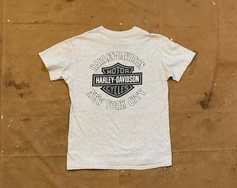 90s NYC Harley Davidson Hawg t-shirt