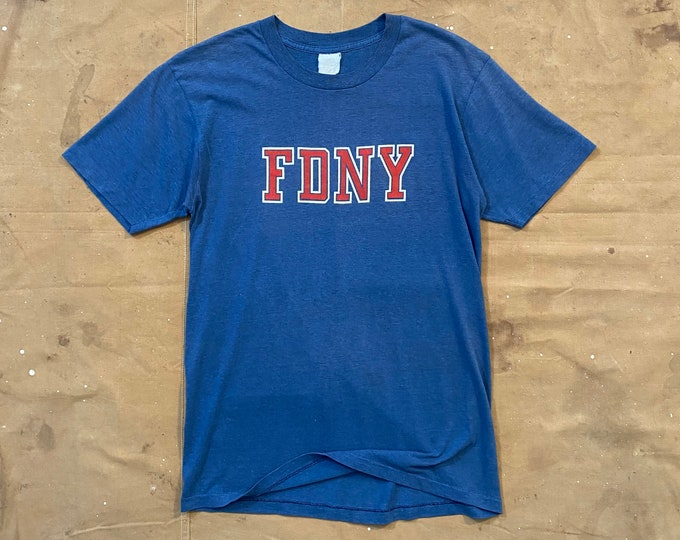 Paper thin FDNY T-shirt NY Fire Dept