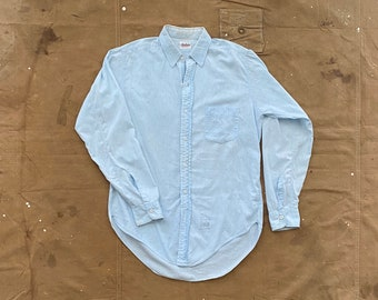 1940s / 50s Chambray Button down Gusset