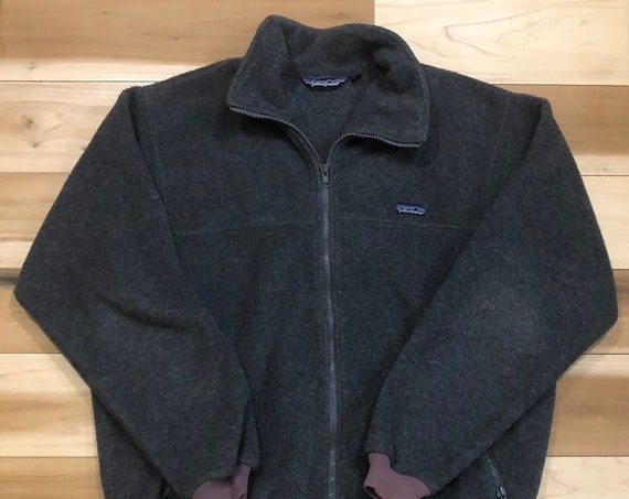 80s Patagonia Fleece Jacket Made in USA