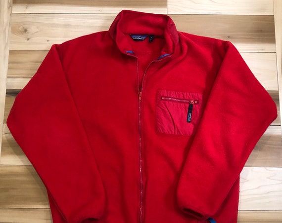 90s Patagonia Fleece Jacket Synchilla Made in USA