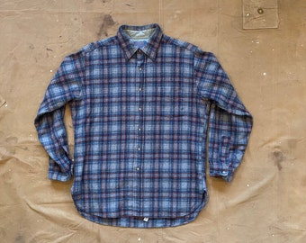 Pendleton Virgin Wool Shirt Plaid
