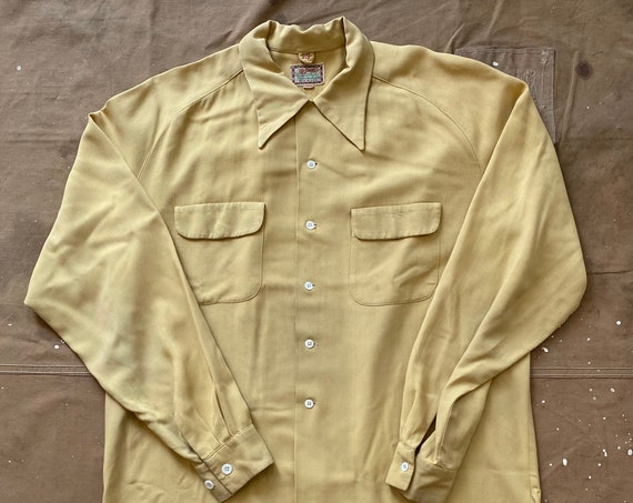 40s McGregor Gabardine Shirt