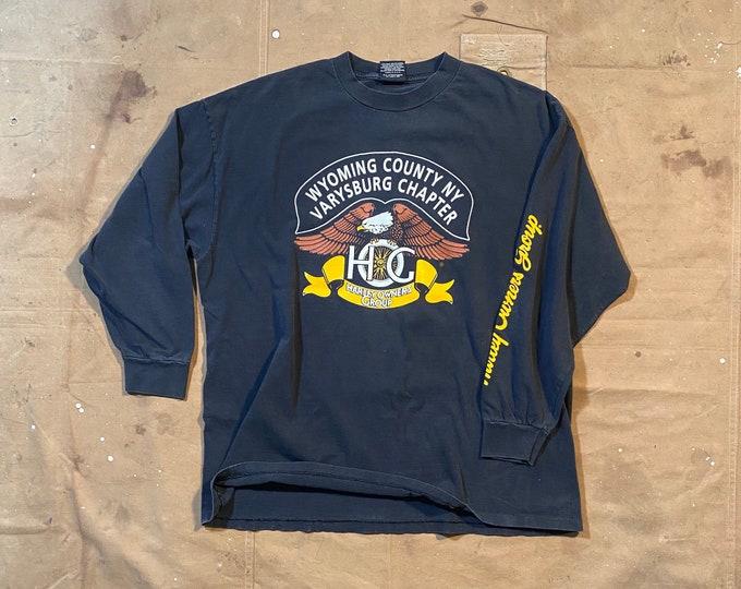 90s Harley Davidson Shirt Double Sided