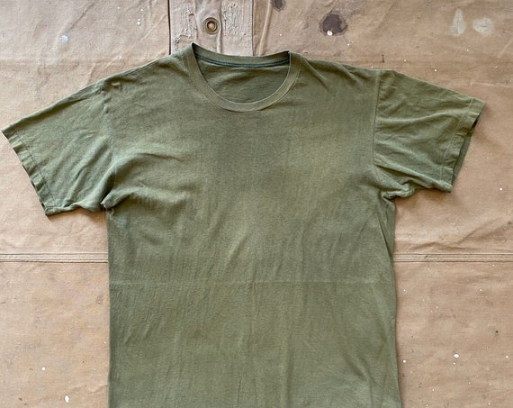 60s Faded military Undershirt
