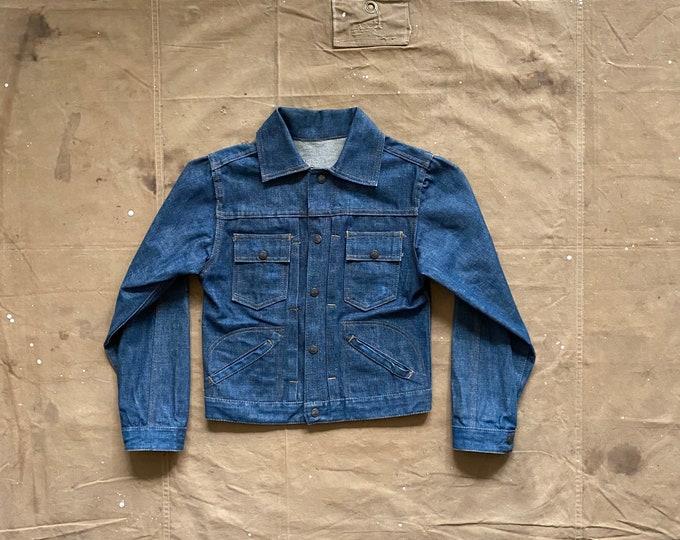 Selvedge '60s Denim Jacket Dark wash