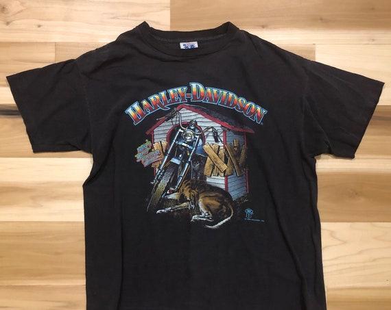 88 Harley Davidson T-shirt Mans Best Friend