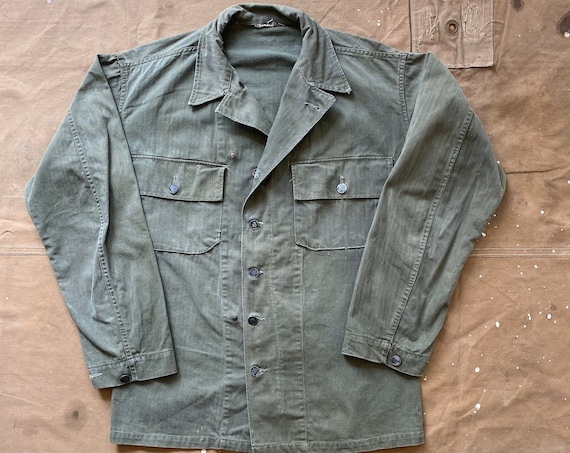 WWII HBT Jacket US Army Salty