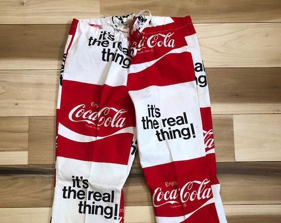 High Waist 70s Coca Cola Bell bottoms Deadstock