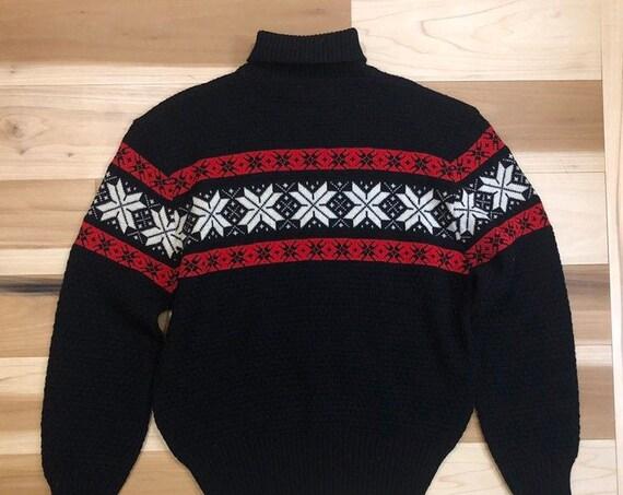 1940s Ski Sweater Glengarry Sportswear All Wool