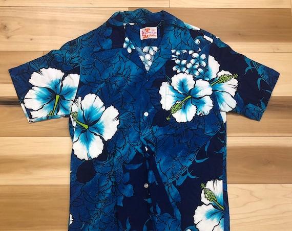 Sears 60s Hawaiian Shirt Floral