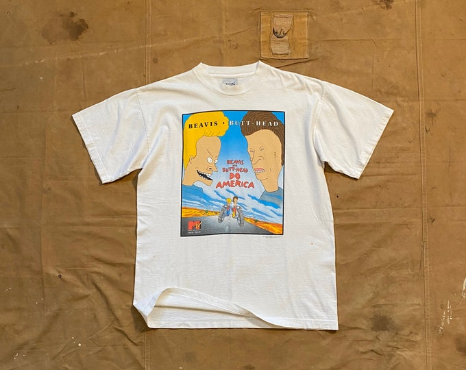 90s Beavis and Butthead T-Shirt Stanely Desantis