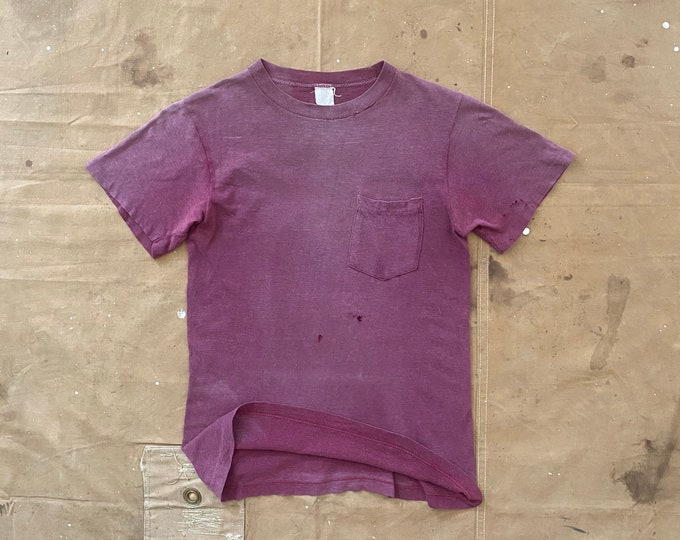 Faded '70s Pocket Tee distressed