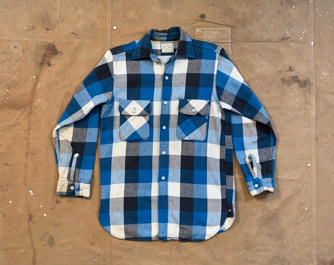 1950s / 60s Flannel Shirt Gusset
