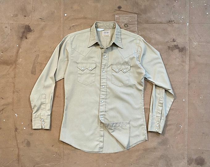 Pearl Snap 1950s / 60s Dee Cee Western Shirt