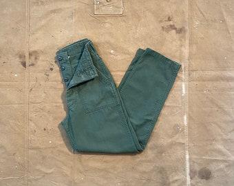 Army Trousers 27 Waist OG 107