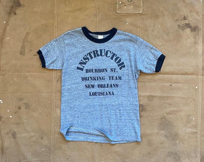 70s Tri blend Drinking Team T-Shirt NOLA