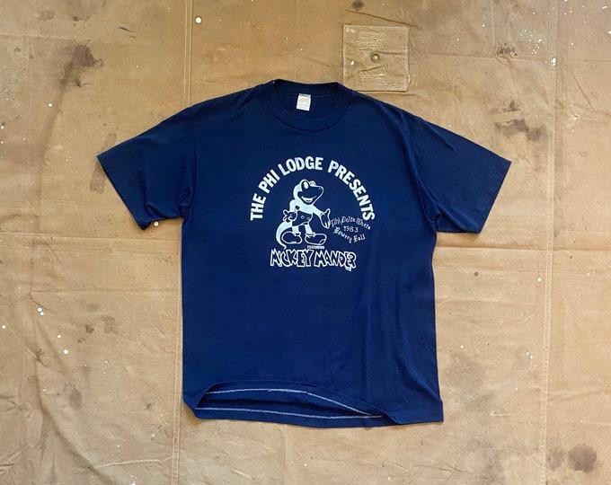 Mickey '80s Penn State T-Shirt Phi Delta Theta Eat Me