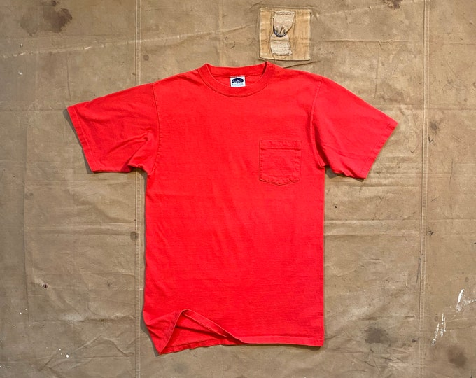 80s Pocket tee Forestel 100% cotton