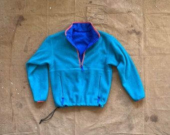 90s Patagonia Glissade Reversible Pullover Fleece F8