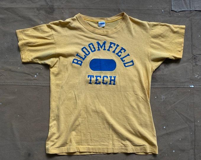 70s Champion Shirt Bloomfield Tech