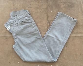 50s Wrangler Jeans 28 Waist Gray