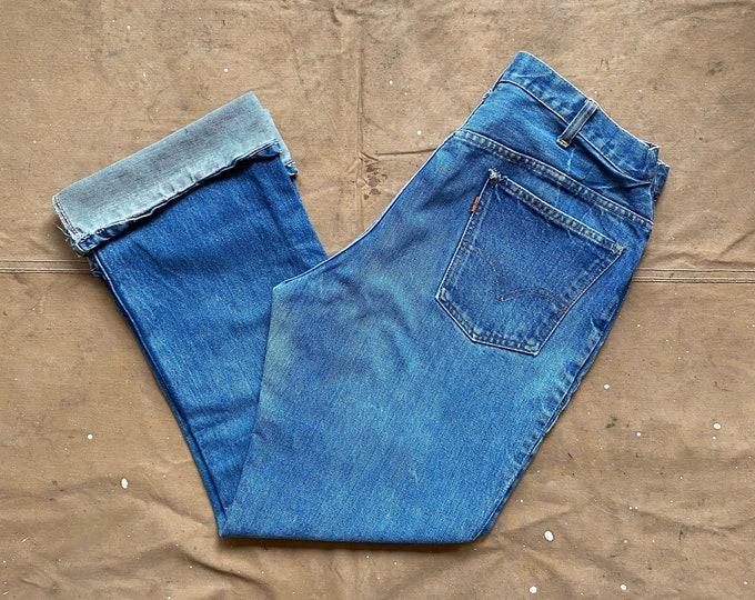 60s Levi's jeans 32 waist Single Stitch