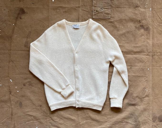 60s Cardigan Alpaca Wool Sweater
