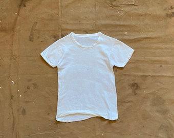 1960s / 70s T-Shirt Paper thin Boys sz 10 / 12