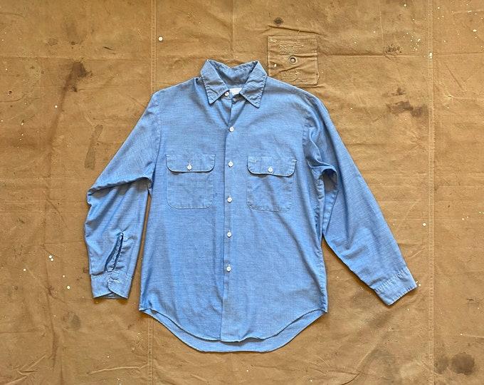 70s Chambray shirt Penneys