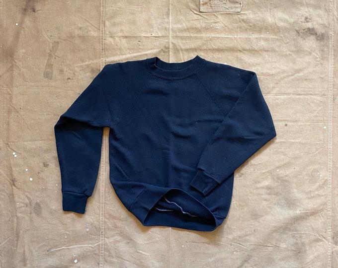Black Gusset Sweatshirt Sportswear Raglan