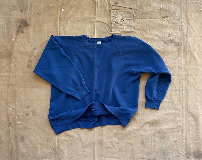 80s Champion Sweatshirt Blue