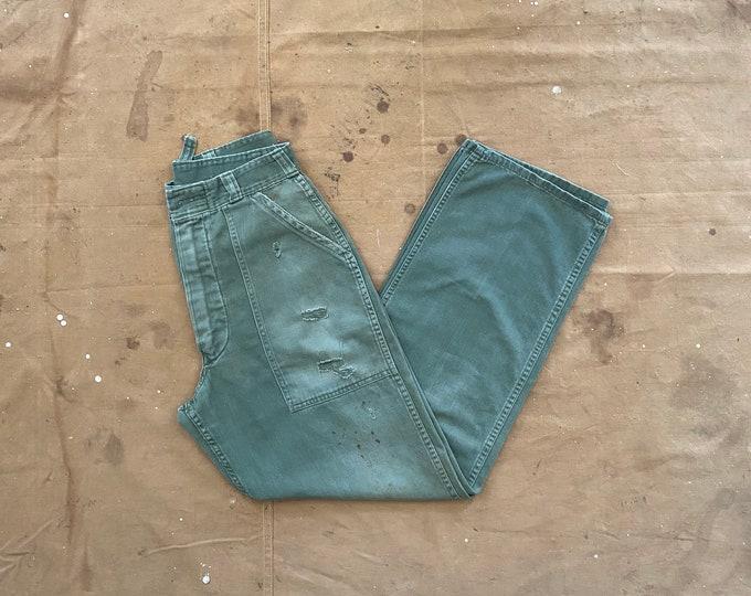 27 Waist Army Trousers OG 107