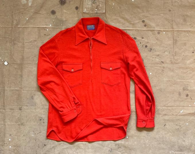 70s Pendleton Quarter zip Pullover