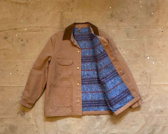 70s Chore Coat Blue Bell Duck canvas Deadstock